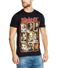 Slipknot Herren T-Shirt New Masks