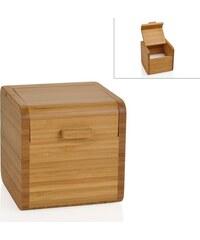 Andrea house - Zásobník na sůl, bambus 11x11x11cm (CC15080)
