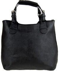 Guress Módní shopper kabelka do ruky 3036 černá