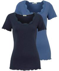 BOYSEN'S Tričko, Boysen's (sada 2 ks) námořnická modrá - Normální délka (N)