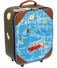 Dushi Kufr na kolečkách Autobus, 34x46x17 cm