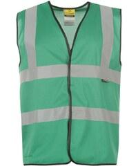 Reflexní bunda Dunlop Coloured pán. zelená