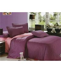 TopMode Moderní povlečení bavlna fialová