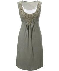 ANISTON Letní šaty, ANISTON khaki