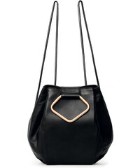 Gretchen Oyster Backpack - Midnight Black / Gold