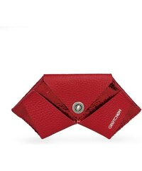 Gretchen Coin Purse Three - Cayenne Red Metalic