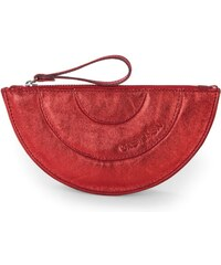 Gretchen Coin Purse One - Fire Red Metalic