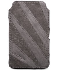 Gretchen Linear iPhone Case - Stone Gray