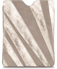 Gretchen Linear Tablet Case - Platinum Sand