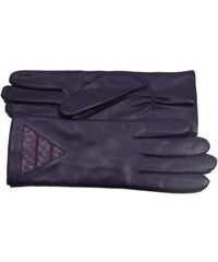 Gretchen Daria triangle glove perch purple -