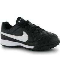 Turfy Nike Tiempo Genio dět. černá/bílá