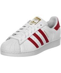 adidas Superstar Foundation chaussures white/scarlet