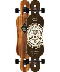 Arbor Genesis Complete Longboards Skateboard brown