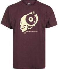 Underpressure Analog T-Shirt maroon/white