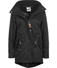 Rain Deer Cloud W parka black