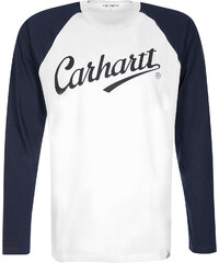 Carhartt Wip League Longsleeve white/duke black
