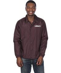 Carhartt Wip College Coach veste tafetta damson