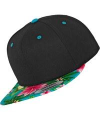 Flexfit Hawaiian Snapback black/aqua