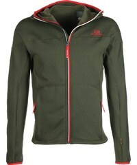 State of Elevenate Arpette Stretch Hood veste polaire deep forest