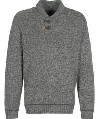 Fjällräven Lada pull en laine grey/dark grey