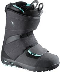 Salomon F3.0 boots black/charcoal/turquoise
