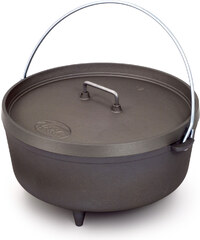 """Gsi Outdoors 12"""" Hard Anodized cocotte"""