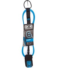 Ocean and Earth Comp One Piece Surfaccessoires Leash blue