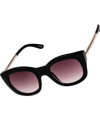 Le Specs Runaways Luxe lunettes de soleil black/warm smoke
