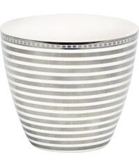 Green Gate Latte cup Stripe silver