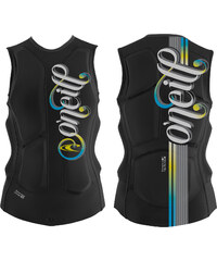 O'Neill Gooru Padded Vest W protection black / yellow