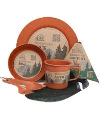 Eco SouLife Camper Set Side Geschirrset orange
