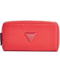 GUESS GUESS Abree Zip-Around Wallet - charcoal