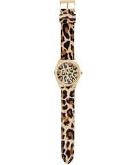 GUESS GUESS Catwalk Leopard-Print Watch - no color