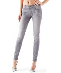 GUESS GUESS Mid-Rise Power Curvy Jeans in Whirlwind Wash - petal