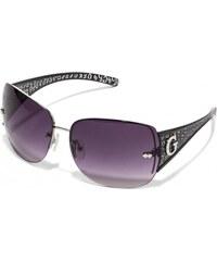 GUESS GUESS Rimless Shield Sunglasses - black