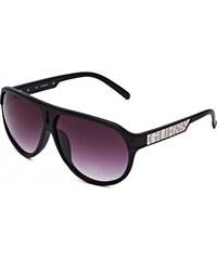 GUESS GUESS Striped Aviator Sunglasses - multi black