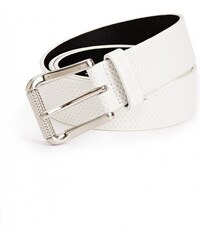 GUESS GUESS Perforated Belt - white