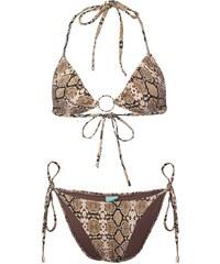 Melissa Odabash MIAMI Bikini brown