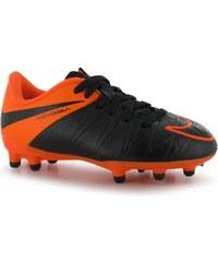 Kopačky Nike Hypervenom Phelon FG dět. černá/oranžová