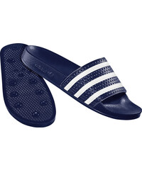 adidas Adilette Badeschuhe adiblue/white/adiblue