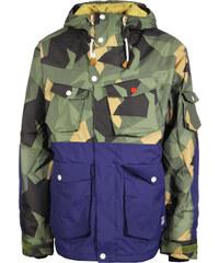 Clwr Ambush veste de snowboard asymmetric olive