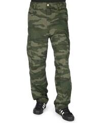 Carhartt Wip Cargo pantalon camo mono/blackforest rinsed