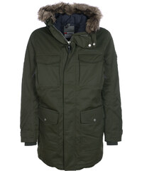 Didriksons Shelter parka stone green