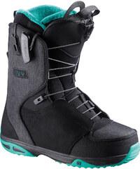 Salomon Ivy W boots black/ emerald