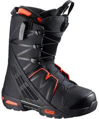 Salomon Malamute boots black/ neon red