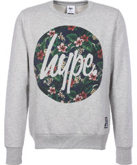 Hype Flower Circle Sweater grey/multi
