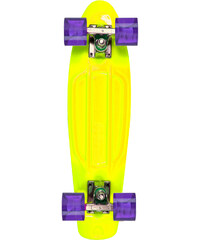 Stereo Vinyl Cruiser cruiser yellow/raw/purple