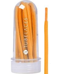 MasterDis White Rope Solid 130 cm Laces neon orange