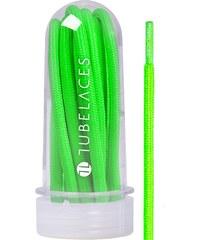 MasterDis White Rope Solid 130 cm Laces neon green
