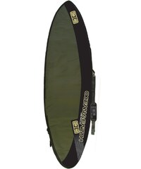 Ocean and Earth Aircon Fish / Funboard housse green / black